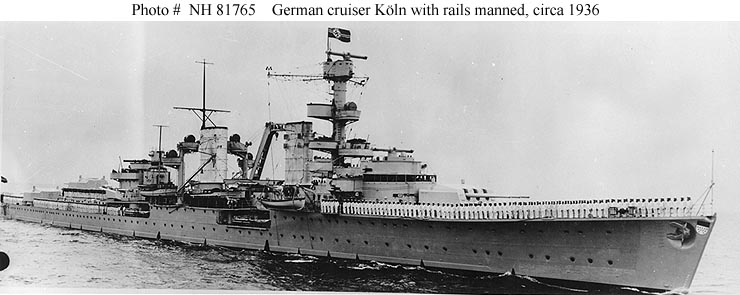 German Cruiser Koln